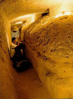 The discovery in 1995 that a long-ignored doorway in the Valley of the Kings was actually the entrance to the largest tomb ever found in Egypt made headlines around the world. Called KV5, it contains over 150 corridors and chambers, and was used as a family mausoleum for 52 sons of the New Kingdom pharaoh, Ramesses II.
