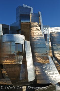 Weisman Art Museum ~ Minneapolis  This is on the u of m campus.  The reflection as you drive over the bridge toward it is blinding on a sunny day!