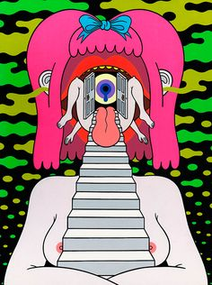 16 visiones eróticas que son pura droga lisérgica