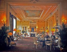 The drawing room at Sandringham, where the royals will gather for the first time.It's tea time (Earl Grey mostly) at 4 p.m. in the drawing room. Sandwiches, scones and muffins are in abundance.