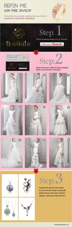 I like dress 9 because it is unusual and reminds me of my personality which is down to earth humble dreamer lol p. Dream Wedding Dresses, Wedding Gowns, Our Wedding, Samantha Wedding, Jolie Pitt, Wedding Inspiration, Wedding Ideas, Bride Gowns, Pure White