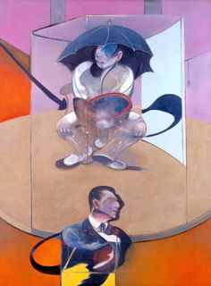 """Francis Bacon, """"Seated Figure,"""" 1978"""
