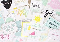 Etsy-Featured-Shop-The-Cub-Co-Thank-You-and-Congrats-Cards