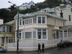 Wellington Wooden Houses - New Zealand