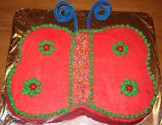 Love this butterfly birthday cake :)