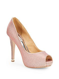 Shimmer Mesh Pumps - SaksOff5th