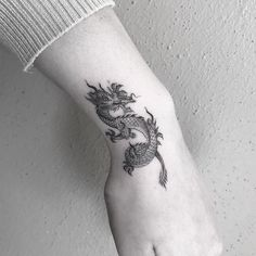 Single Needle Dragon at the West Texas Tattoo the NeedleDragon . - Single-needle dragon at the West Texas Tattoo the NeedleDragon – Art # - Dragon Tattoo Arm, Small Dragon Tattoos, Dragon Tattoo For Women, Chinese Dragon Tattoos, Dragon Tattoo Designs, Small Tattoos, Tattoos For Women, Dragon Sleeve, Unique Tattoos