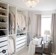 Walk in closet design master suite ikea pax ideas for 2019