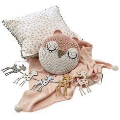 Items similar to Reversible Swiss Cross Blanket - Blush & White on Etsy