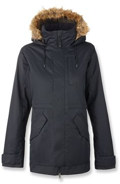 Burton Female The White Collection Wanderlust Insulated Jacket - Women s  Womens Snowboard Jacket 1ce49a649