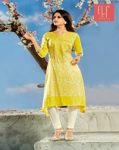 Looking to #buy #yellow #kurti #online? #Huge #collection of #yellow #Elf #kurti #available in different #patterns #designs & #price #ranges Everyone you ask will have a #strong #opinion #about it  #Dresslinefashion #your #own #Online #ethnic #store http://dresslinefashion.com/index.php?route=product/category&path=96&limit=100