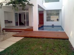 Minimalist townhome in Cozumel