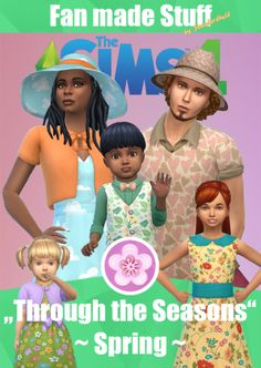 """""""Through the Seasons"""" - SPRING [ENGLISH] Do you feel it? The world is awakening to new life. Everywhere it greens, flowers sprout, love is in the air … and your Sims need clothes for the slowly rising temperatures. Have fun with a touch of spring to wear! Features: The Sims 4""""Seasons"""" expansion pack is required For the""""polo"""" shirts The Sims 4""""Cats & Dogs"""" expansion pack is required 11 different CAS items! 2 tops for male (one in two versions, the other in 3 versions!) 1 bottom"""