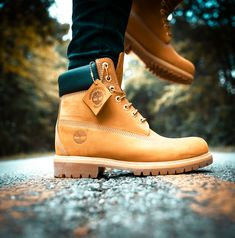 When you think of Timberland boots, you're thinking of these classic waterproof boots. Timberland Boots For Sale, Timberland Waterproof Boots, Timberland Boots Outfit, Timberland Mens, Timberlands, Mens Boots Fashion, Sneakers Fashion, Men's Fashion, Men's Sneakers