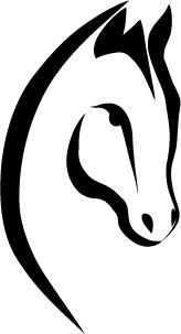 Animal Line Drawings, Horse Drawings, Art Drawings, Horse Stencil, Horse Logo, Kids Canvas, Wood Carving Patterns, Horse Art, Native American Art