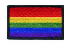 Rainbow Flag Patch - LGBT