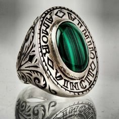 New men's ring.