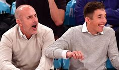 How Many Kids Does Matt Lauer Have? - Ages  Matt Lauer has three kids: His son Jack is 16 his daughter Romy is 14 and his youngest son Thijs is 11. Matt's ex-wife Annette Roque is the mother of all 3 of his children. They got married in 1998. Annette filed for divorce in 2006 while she was pregnant with their third child. They eventually decided to stay together but Annette's most likely reconsidering that decision. Annette was Matt's second wife. From 1981 to 1988 he was married to Nancy…