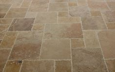 BuildDirect – Travertine Tile - Antique Pattern Sets – Volcano Standard - Multi View