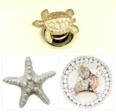 How fun one of these would be in your bathroom sink! Decorative Coastal Drains for Sink and Shower