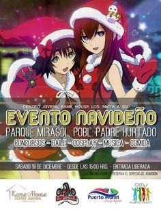 Kagi Nippon He ~ Anime Nippon-Jin: EVENTO NAVIDEÑO! COSPLAY+MUSICA+CONCURSOS - Puerto...