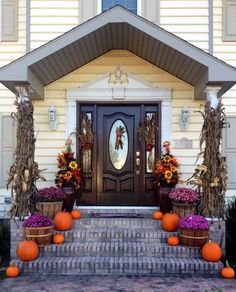 Our Fall Front Door Step :)