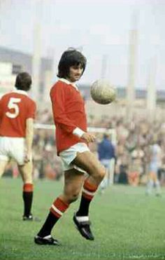 George Best of Man Utd in 1972.