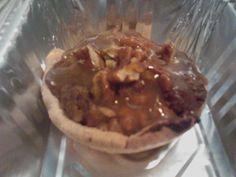 Mini Apple Pecan Caramel Crunch Pie