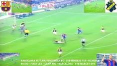 Barcelona FC beat AIK Stockholm in this Cup Winners Cup quarter final first leg played at the Camp Nou on the March Barcelona Scorers: Gheorghe. World Football, Camp Nou, Fc Barcelona, Stockholm, Finals, Youtube, Final Exams, Youtubers, Youtube Movies