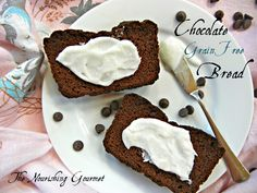 Chocolate-Grain-Free-Bread. GAPS Friendly. Not AIP Friendly. Has nuts