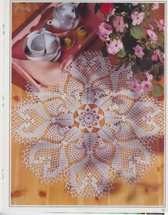 napkins new 6 - Crochet Knitting Handicraft