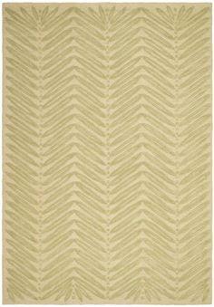 chevron leaf print rug