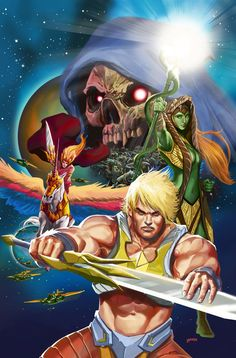 HE-MAN: THE ETERNITY WAR #8, July 2015, Art and cover by POP MHAN