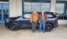 Betty and Ricky, we're so excited for all the places you'll go in your 2015 JEEP CHEROKEE!  Safe travels and best wishes on behalf of Landmark Chrysler Jeep Fiat and Martin Hammers.