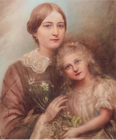 Sainte Therese, St Therese, Catholic Art, Catholic Saints, Terra Santa, Saint Quotes, Santa Teresa, Eucharist, Vintage Images