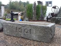 Horse & Oxen Granite Trough in Wakefield, MA | DiggersList.com