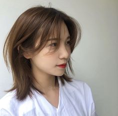 Pin on Hairstyles Pin on Hairstyles Asian Short Hair, Girl Short Hair, Short Hair Cuts, Medium Hair Styles, Curly Hair Styles, Natural Hair Styles, Haircuts Straight Hair, Shot Hair Styles, Aesthetic Hair