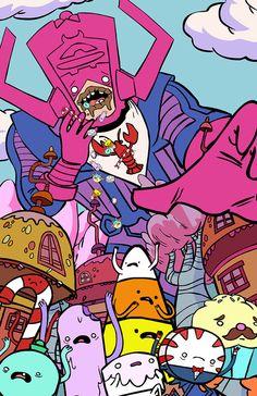 """Galactus Eats The Candy Kingdom""  Brendan Tobin // Blog"