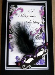 wedding invitation this could be so fun masquerade - Masquerade Wedding Invitations