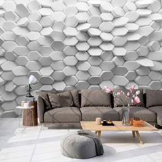 effect wallpaper for living room wall behind sofa 3d Wallpaper Designs For Living Room, Latest Wallpaper Designs, Living Room Wall Wallpaper, Wallpaper World, 3d Wallpaper For Walls, Office Wallpaper, Perfect Wallpaper, Wallpaper Ideas, Wand Hinter Couch