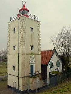 Oosterdijk, Enkhuizen, Noord Holland, Netherlands 1700 - #lighthouses #vuurtorens