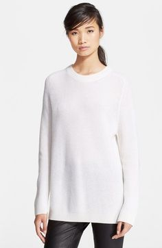 rag & bone 'Valentina' Knit Cashmere Tunic available at #Nordstrom