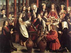 Gerard David - De bruiloft te Kana Johannes 2
