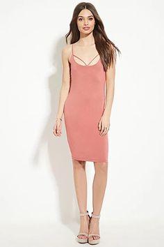 Crisscross-Back Bodycon Dress | Forever 21 #thelatest