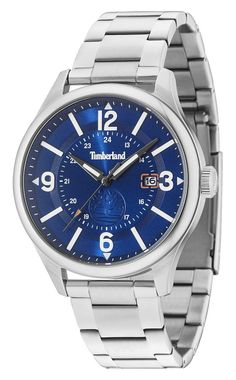 5170668364a92 Timberland horloge Blake staal 48 mm 14645JS 03M