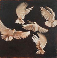 Shop 'Dreams In A Time Of Lockdown', an original painting by Mila Posthumus. Oil on canvas 30 x 30 x 4 cm, available for sale. Oil On Canvas, Original Paintings, African, Dreams, Gallery, Artwork, Artist, Work Of Art, Roof Rack