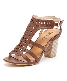 Look at this Tan Drinee Sandal on #zulily today!
