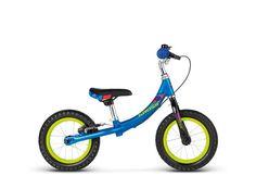 """KROSSMINI 12""""BARNESYKKEL    Kross Mini 12""""er en balansesykkellaget for barn som skal begynne å lære seg å sykle. Syklen har ingen pedaler ogman sparker fra bakken for å få fart, dette gjør at det blir lettere å holde balansen på sykkelen. Dette er enmeget god sykkel som det er lett å lære på,den har lav vekt som gjør at den er enkel å få med seg rundt.Kult design og en super startsykk..."""