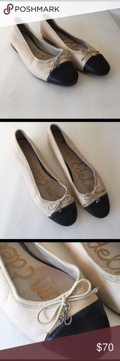 77f3dc82b7e Sam Edelman leather cap toe ballerina flats 7 Inspired by our fav brand  Chanel. Soft