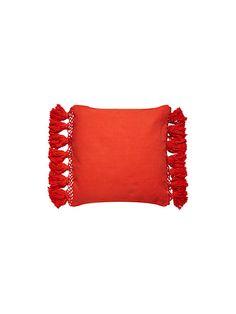 tassel pillow   Kate Spade New York